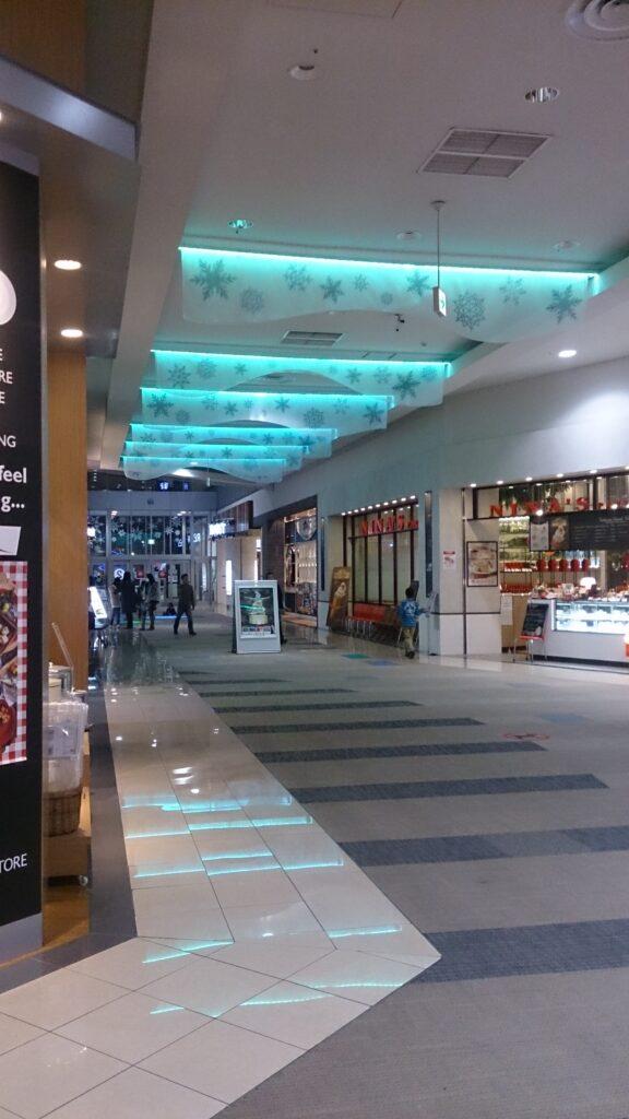 東京都商業施設クリスマスツリーとLEDモジュール