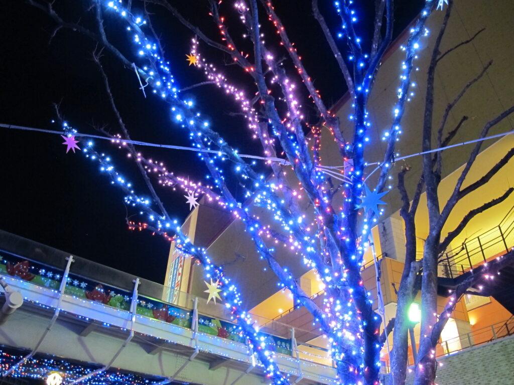 神奈川県複合施設イルミネーション3