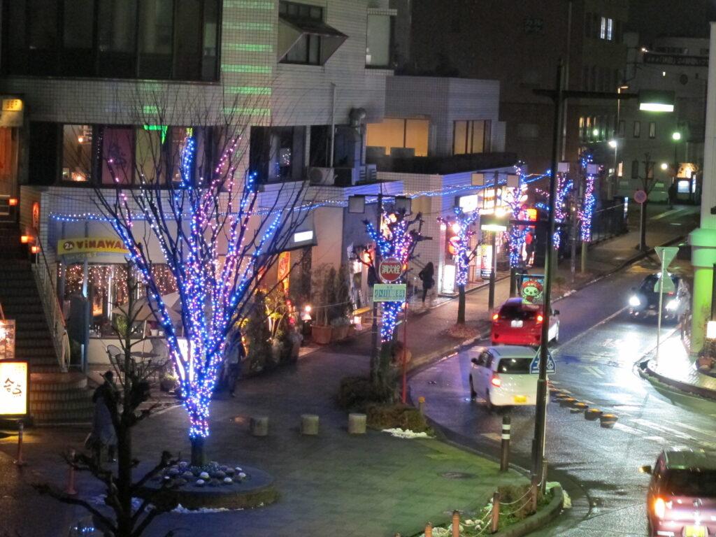 神奈川県複合施設イルミネーション4