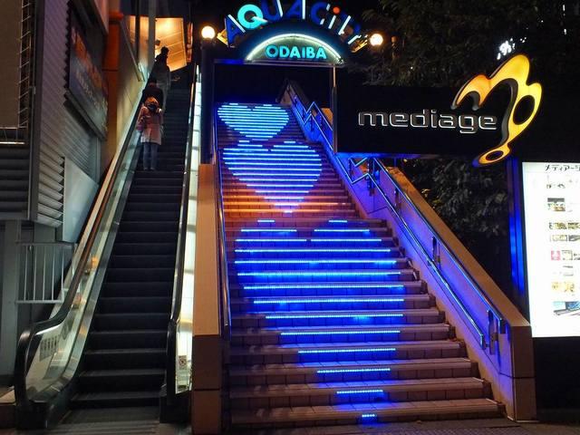 階段の演出